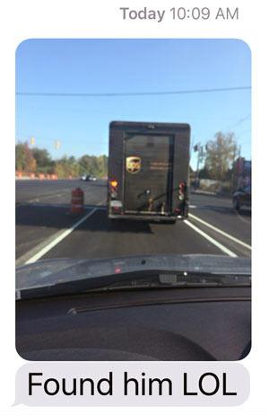 US Truck Found